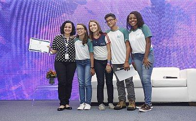 O 3º lugar ficou com a Escola Sesi Reitor Miguel Calmon, representado pela equipe Tec Gold e o Projeto Casarões 3D