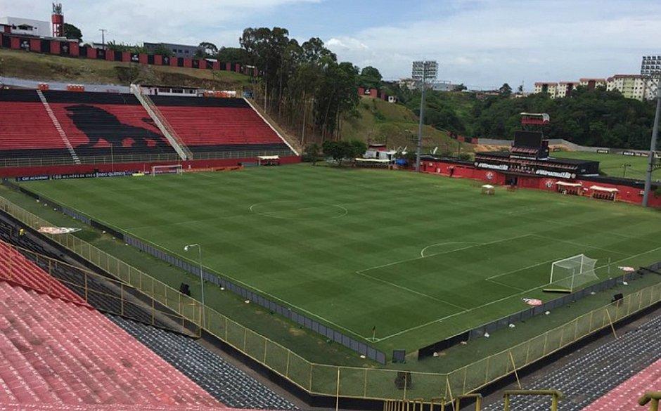 Contra o CRB, Vitória busca triunfo de número 450 no Barradão - Jornal Correio