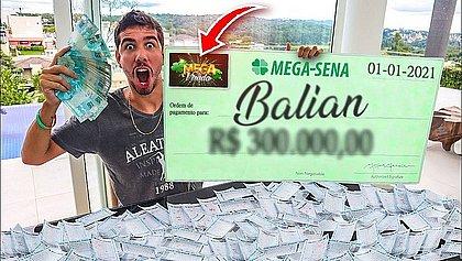 Banho no Tietê e uber a SP: youtuber baiano ganha dinheiro com desafios na web