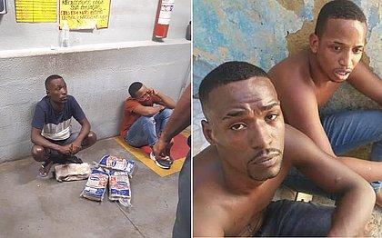 Testemunha diz ter visto dupla ser entregue a homens armados após tortura em mercado