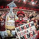 Torcida do Flamengo está em êxtase com a campanha do time