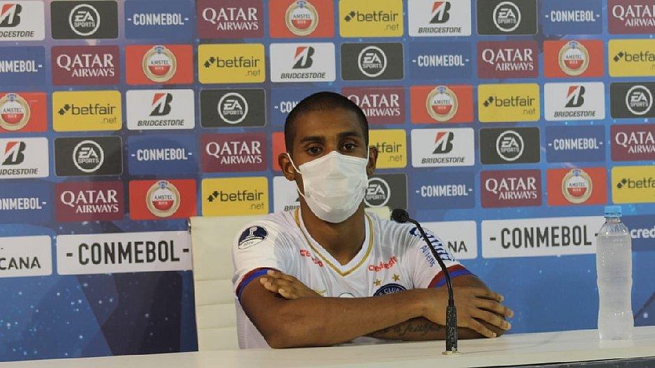 Ramon ganhou chance entre os titulares e destaca confiança após classificação