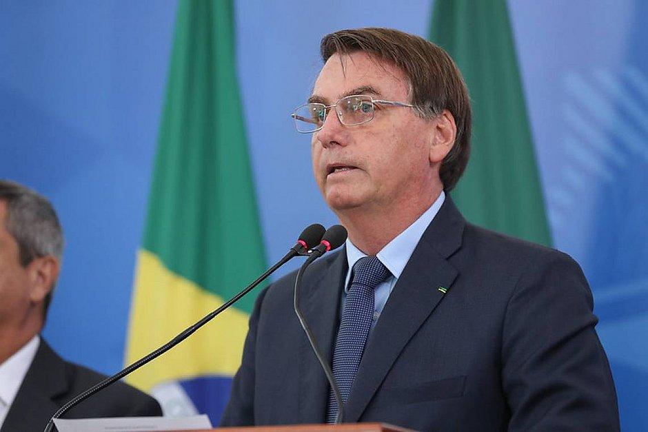 """Bolsonaro: O povo tem seus direitos violentados com """"o apoio ou omissão da Globo"""""""