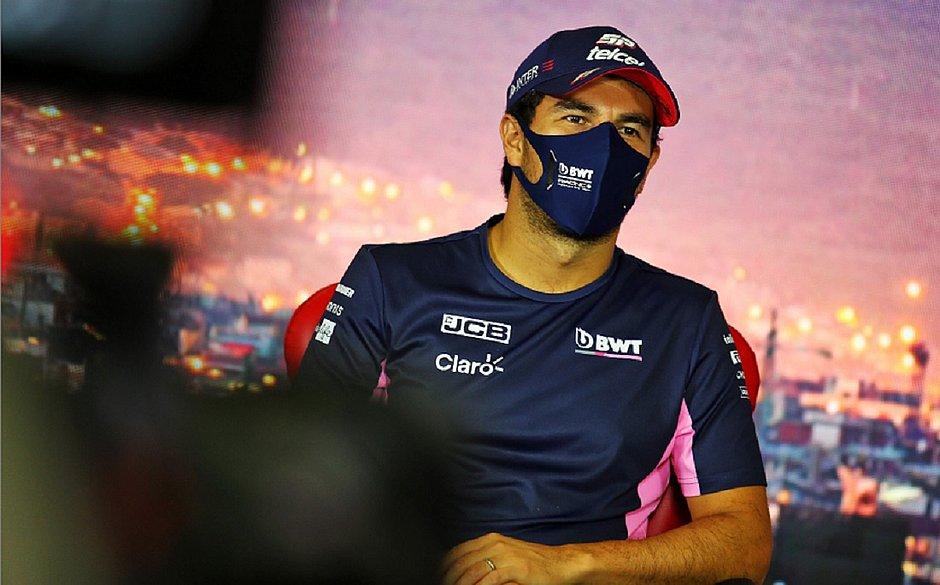 Pérez testa negativo para covid-19 e voltará no GP da Espanha