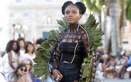 Afro Fashion Day leva elegância dos blocos afros para passarela do Terreiro de Jesus