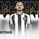 Marco Antônio foi emprestado pelo Bahia ao Botafogo até o fim da temporada 2021