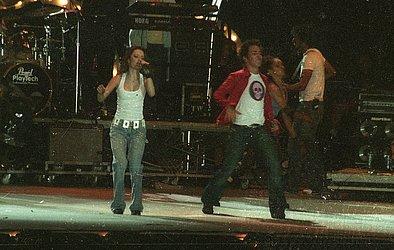 2004: Irmãos vieram para Bahia juntos pela última vez no Festival de Verão.
