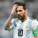Messi não veste a camisa da Argentina desde a Copa do Mundo de 2018, na Rússia