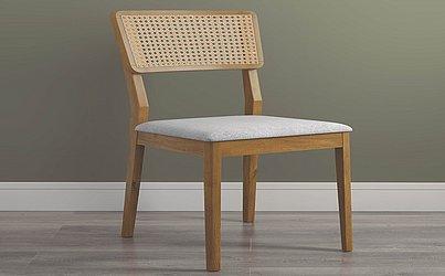 Cadeira Dory (estofado ou palha): de R$ 798 por R$ 399