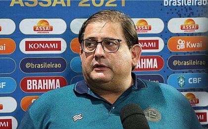 Guto avalia empate como positivo e elogia defesa zerada: 'Caminho é por aí'