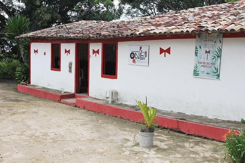 Barracão do Ilê Axé Ici Mimó