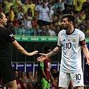 Messi só teve uma chance de marcar na Fonte Nova