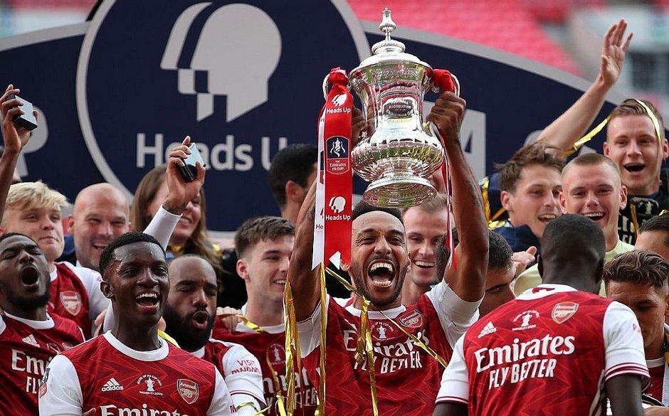 Arsenal foi o campeão da Copa da Inglaterra na temporada 2019/2020