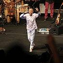 Gilberto Gil agita o público na Concha Acústica, que ficou lotada para show comemorativo