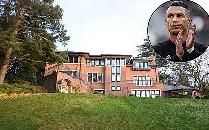 CR7 põe mansão à venda na Inglaterra com desconto; veja fotos