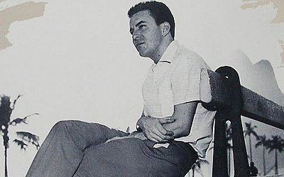 João Gilberto em Ipanema, na década de 1950.