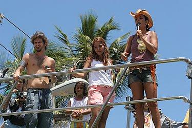 Saulo e Ivete, em 2006