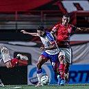 Fessin foi uma das novidades de Dado Cavalcanti no empate do Bahia com o Atlético-GO