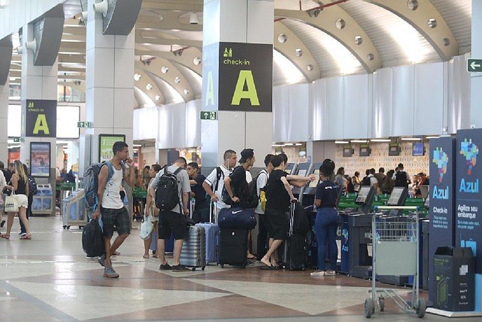 Movimentação no Aeroporto de Salvador nessa quinta-feira, 2