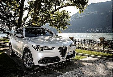 Na Argentina a Alfa Romeo oferece vários produtos, como o SUV Stelvio