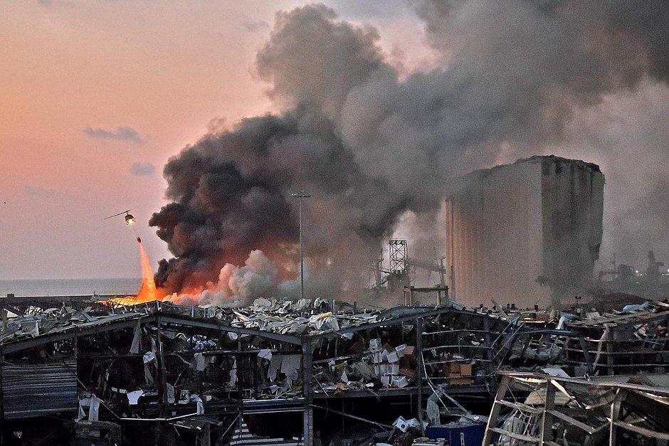 Explosão em Beirute: Governo contabiliza mais de 25 mortose 3 mil feridos