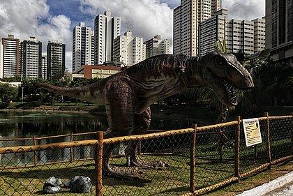 T-rex de verdade jamais andou por Salvador