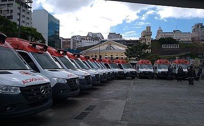Número de ambulâncias do Samu sobe para 62 em Salvador