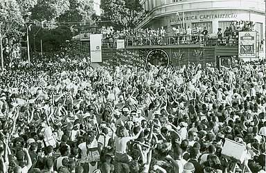 Camaleão no Carnaval 1995