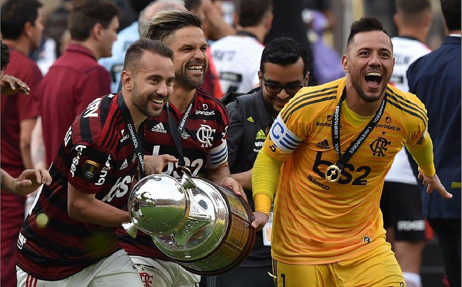 Com título, Flamengo garante vaga no próximo Mundial de Clubes