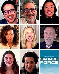 Entrevistas com o elenco e produção de 'Space Force'