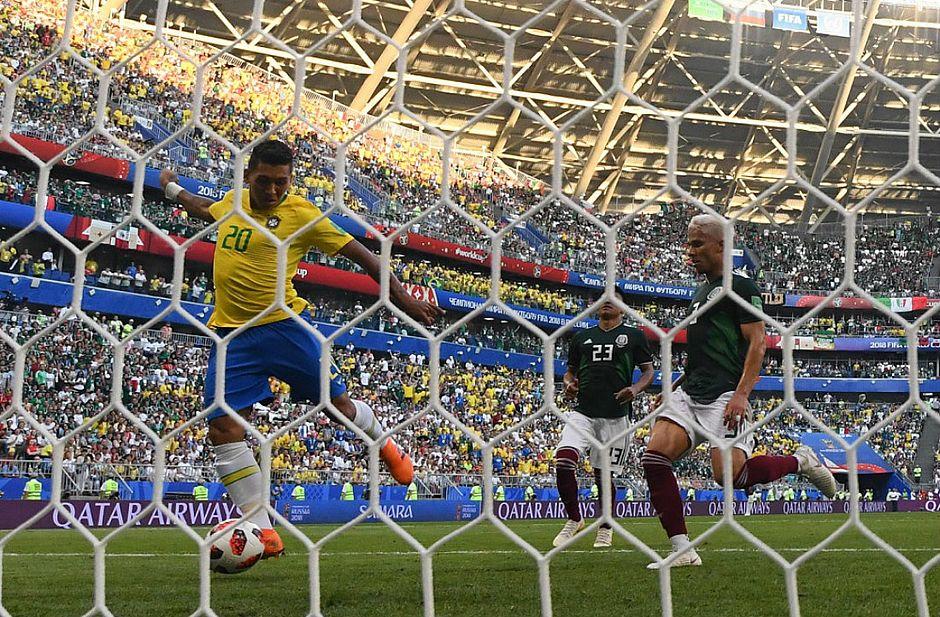 Firmino marca o 228º gol do Brasil em Copas do Mundo