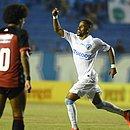 Anderson Oliveira marcou duas vezes sobre o Leão, no Estádio do Café
