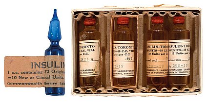 Insulina foi descoberta em 27 de julho de 1921 e aplicada em humano pela primeira vez em janeiro de 1922