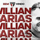 Willian Farias assinou com o São Paulo