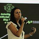 Fernanda Rumblesperger participou do painel sobre automatização e informatização portuária