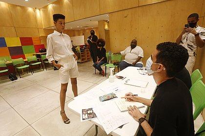 Seleção do Afro Fashion Day reuniu 77 modelos no Shopping Barra