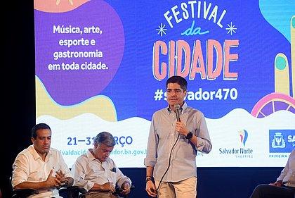 Salvador 470 anos: prefeitura anuncia mais de 40 obras e inaugurações até abril