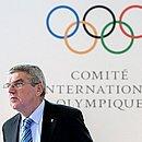 Anúncio foi feito pelo presidente do COI, Thomas Bach