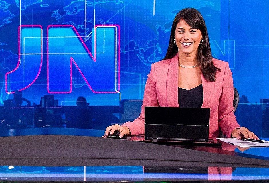 Jéssica Senra entra para o rodízio fixo do Jornal Nacional