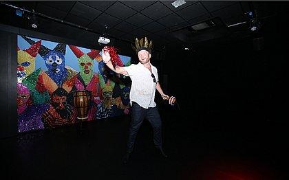 """""""Vou fazer o possível para passar o Carnaval aqui ano que vem"""", prometeu Kronstrom"""