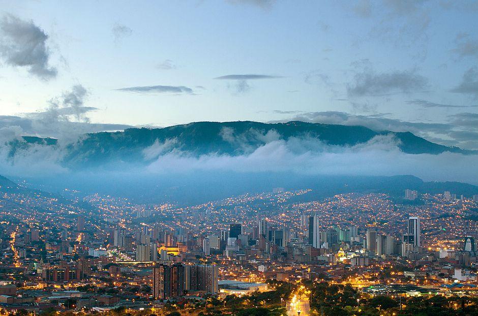 Medellín, na Colômbia, é considerada uma das cidades mais inovadoras da América Latina e exemplo mundial. Foto: Divulgação.