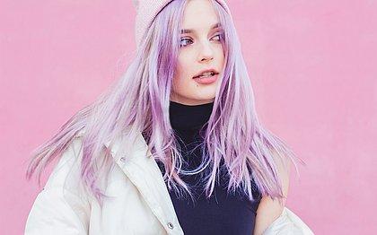 O lilás será a grande tendência de 2019... para o cabelo!