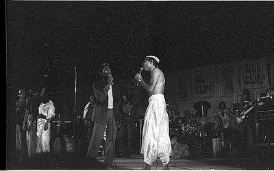 Jimmy Cliff e Gilberto Gil em show na Fonte Nova