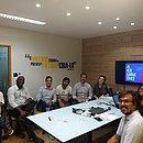 Empresários se reúnem na sede da Rede+, na Av. Tancredo Neves