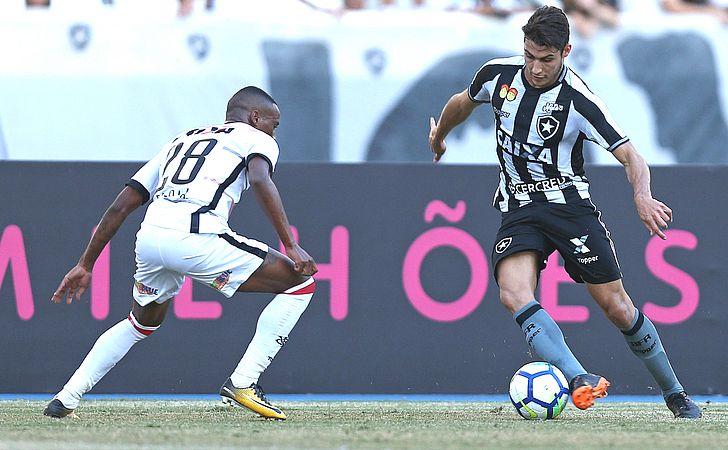 Em jogo de poucas chances, Vitória empata com o Botafogo, no Rio