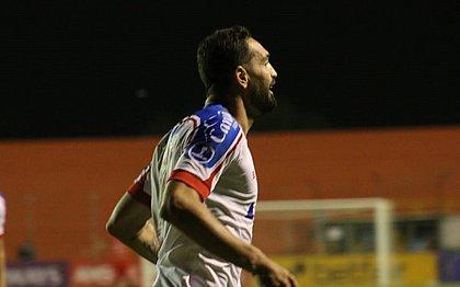 Gilberto foi o autor do gol do triunfo do Bahia sobre o Guabirá