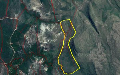 Imagem do atual mapa do Boqueirão