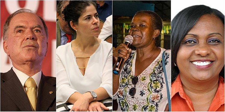 Conheça melhor os candidatos a vice-governador da Bahia