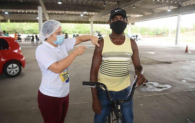 postos de vacinação