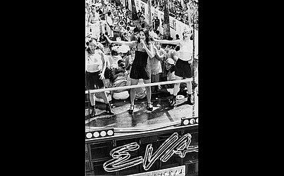 Carnaval 1996, à frente da Banda Eva